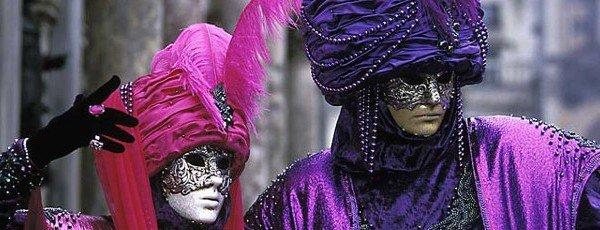 Mascaras de carnaval Venecia