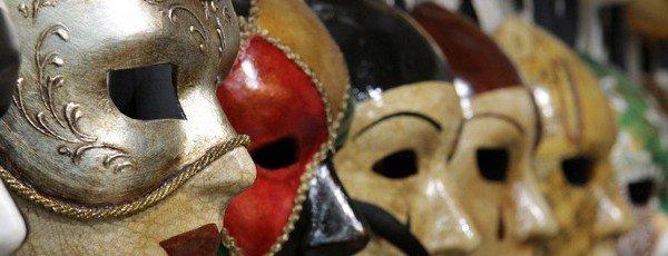 Máscaras Venecianas y los carnavales