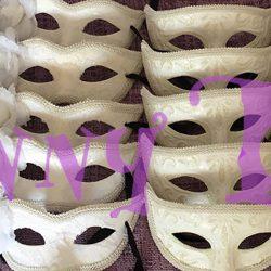 Mascaras venecianas para Bodas