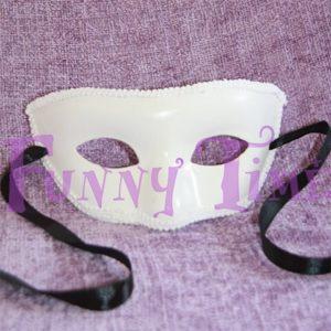 mascara blanca bodas