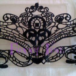 mascara veneciana de encaje