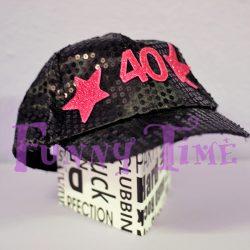 gorra cumpleaños 40