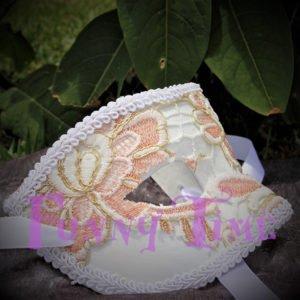 antifaz de boda con encaje