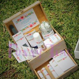 caja de baño para bodas