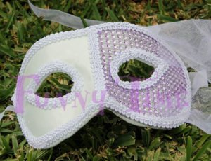 mascara de brillantes