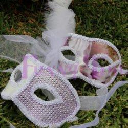 dúo mascaras para novios